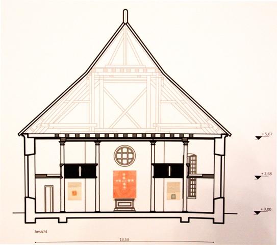 Neue Kunst in Alter Dorfkirche