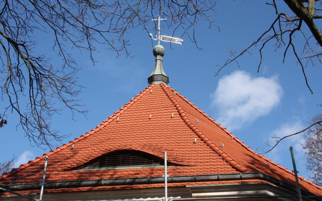 Das neue Dach ist fertig!